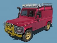 3dsmax defender rally