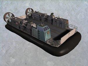 navy lcac 3d model