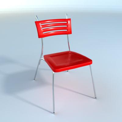 3ds max modern chair