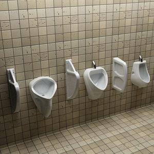 3ds 3 urinal wc seperators