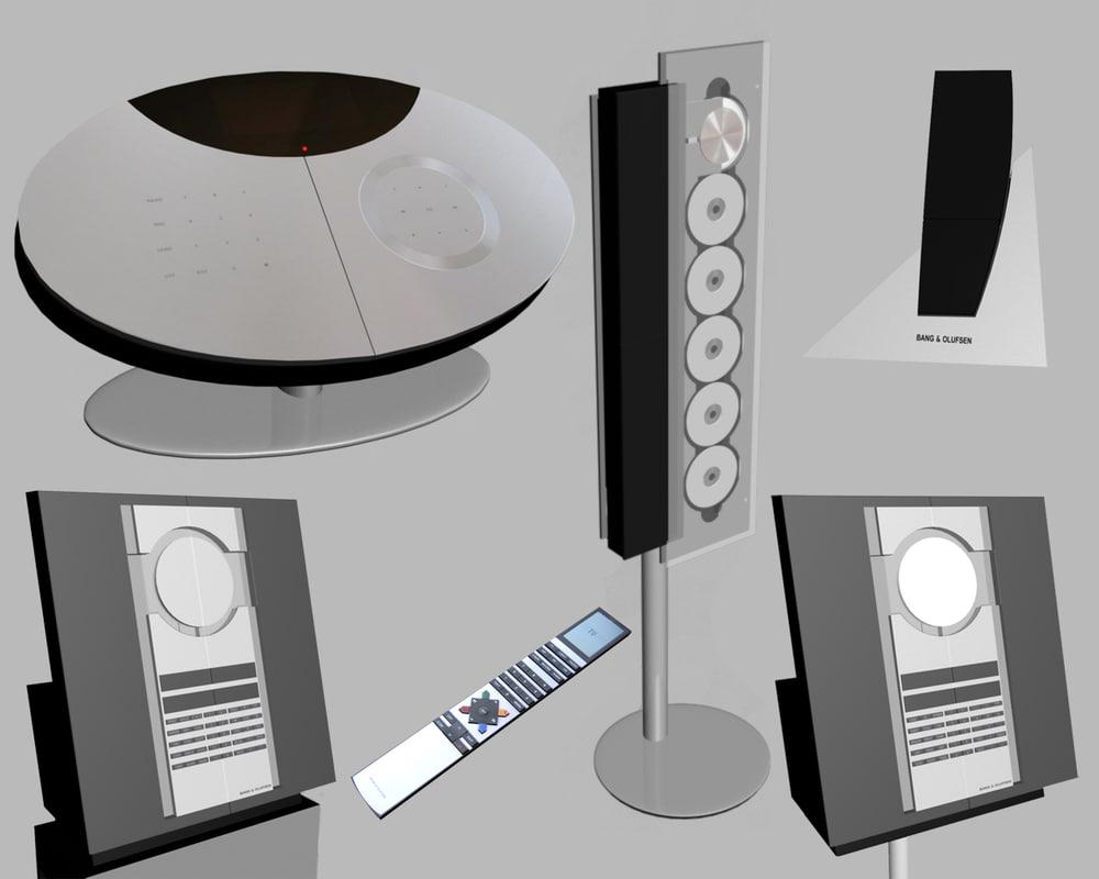3d music beosound model