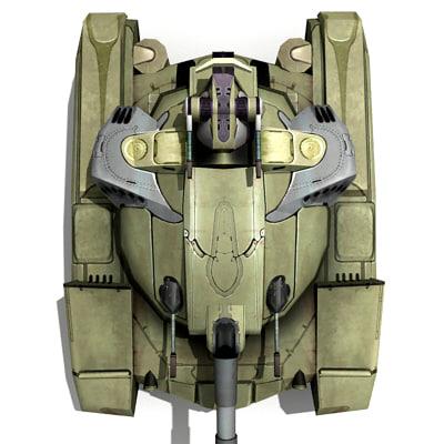 3d tank games model