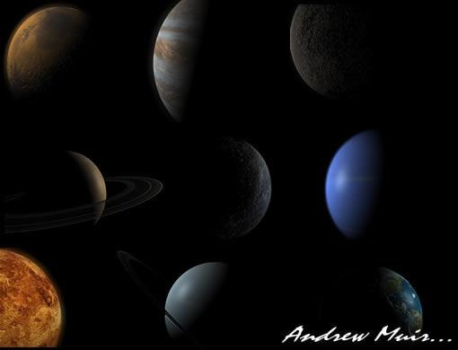 planets c4d