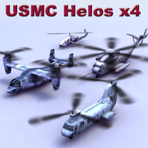 3d usmc helicopter games