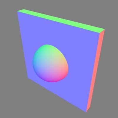normal light setup 3d model