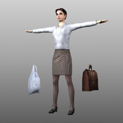 female office worker max