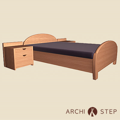 3d bedroom furniture