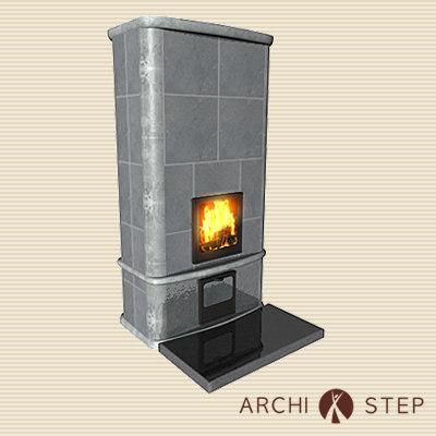 3dsmax fireplace fireplacetulikivi