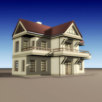 house build villa 3ds