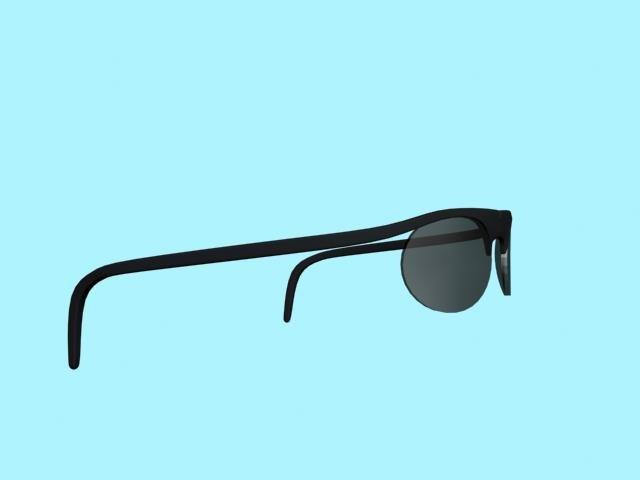 free glasses sunglasses 3d model