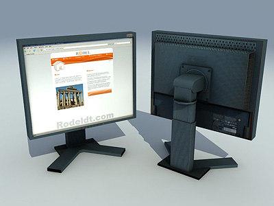 3d lcd monitor