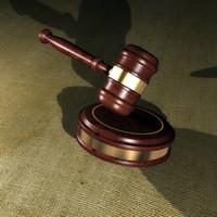 3dsmax court gavel