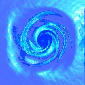water swirl 3d model