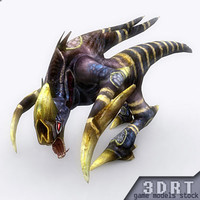 Alien-monsters-3D-pack-animated