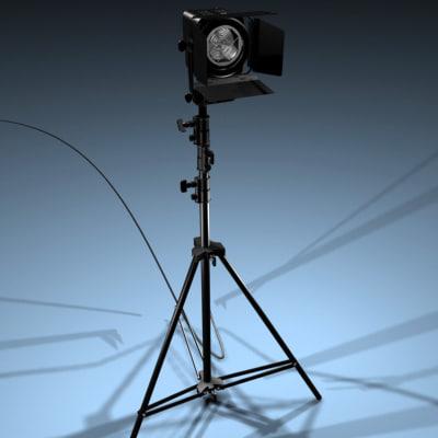 spotlight light 3d model