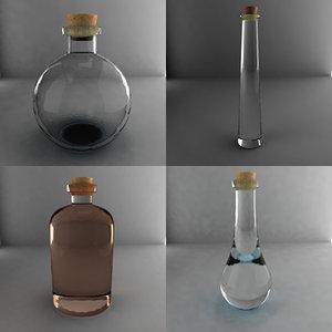 bottle 3d 3ds