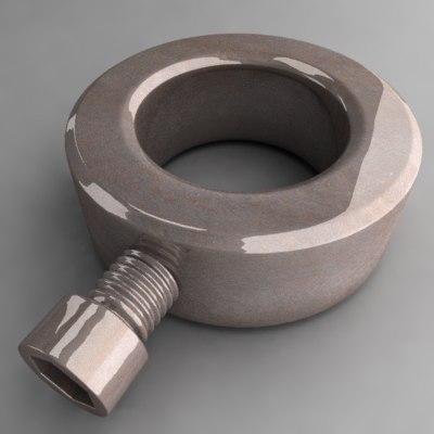 3d dxf thumbscrew screw thumb