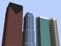 4 skyscrapers
