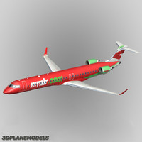 3d bombardier crj-1000 myair air model