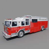Specialist Rescue Fire Truck