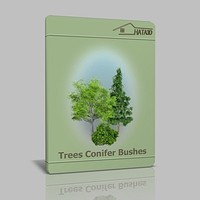 Trees Busche Conifer max
