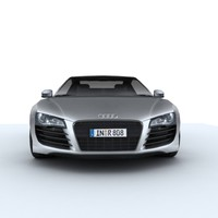 Audi R8 for games and viz