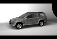 3d mercedes benz gl