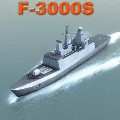 royal frigate f3000s 3d model