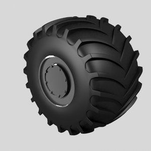 hardtruck wheel 3ds