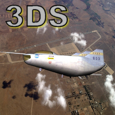 3ds northrop m2-f2