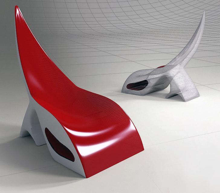 new chair 3d model