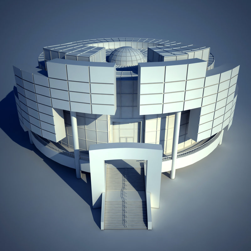 building futuristic 3d 3ds