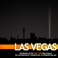 towers towerpacks las vegas 3d model