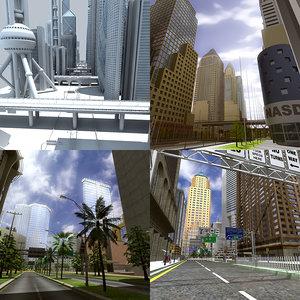 city def 3d max
