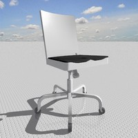 3d model hudson swivel chair