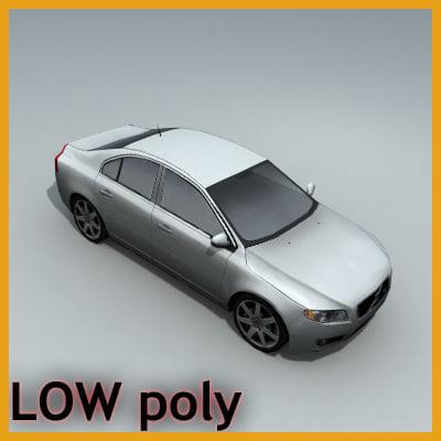 car sedan vehicle 3d max
