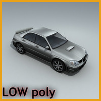 car sedan vehicle 3d model