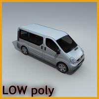 vehicle van 3d model