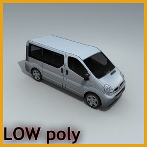 vehicle van 3d model
