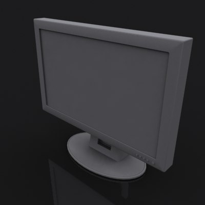 3ds max monitor