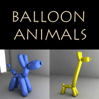 baloon animals 3ds.zip