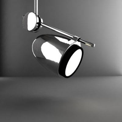 3d model spotlight