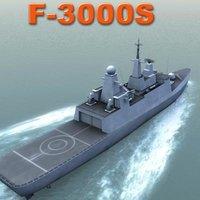 saudi al frigate f3000s fbx