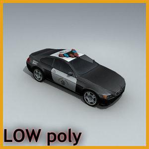 3d car sedan vehicle model