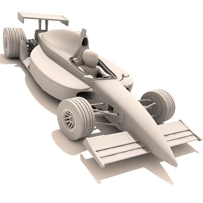 maya indy race car