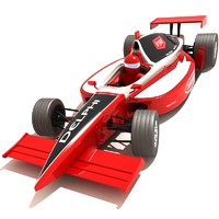Dallara Indy Race Car Red.zip