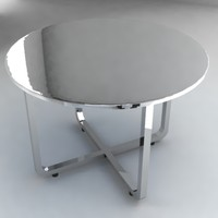 glass table 3d 3ds