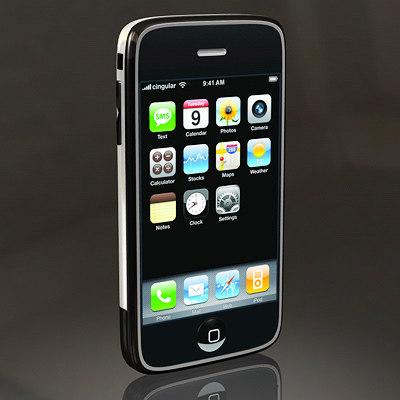 apple iphone phone c4d