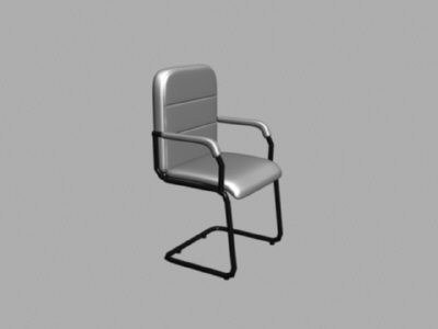 3d model 6 chaires