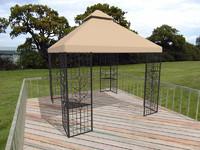 3ds max outdoor furniture gazebo decks